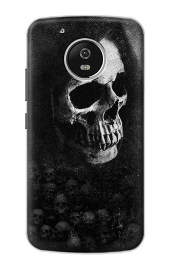 Printed Death Skull Motorola Moto G4 Play Case