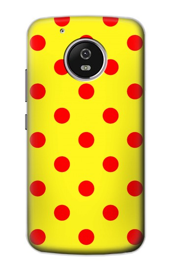 Printed Red Spot Polka Dot Motorola Moto G4 Play Case