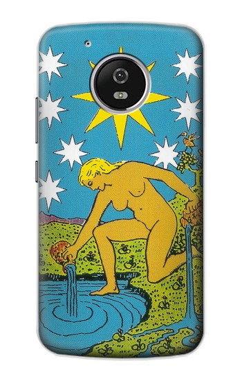 Printed Tarot Card The Star Motorola Moto G4 Play Case