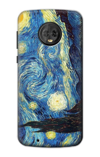 Printed Van Gogh Starry Nights Motorola Moto G6 Case