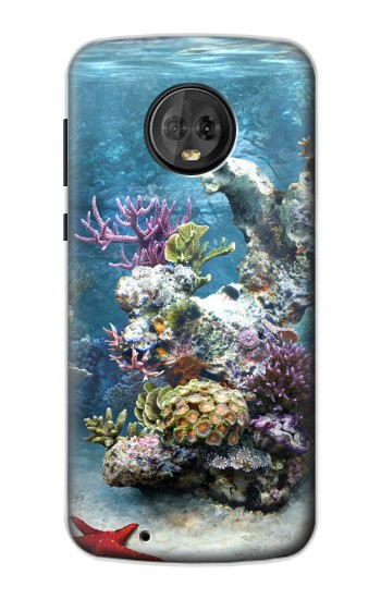 Printed Aquarium 2 Motorola Moto G6 Case