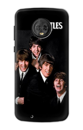 Printed The Beatles Motorola Moto G6 Case