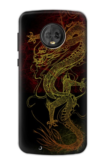 Printed Chinese Dragon Motorola Moto G6 Case