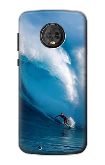 Printed Hawaii Surf Motorola Moto G6 Case