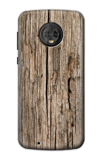 Printed Wood Motorola Moto G6 Case