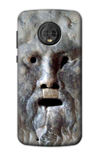 Printed Rome The Mouth of Truth Motorola Moto G6 Case