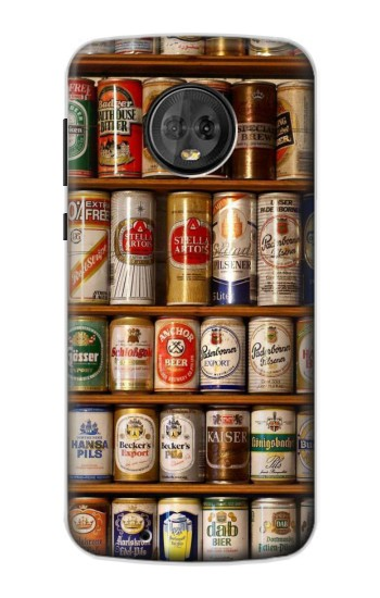 Printed Beer Cans Collection Motorola Moto G6 Case