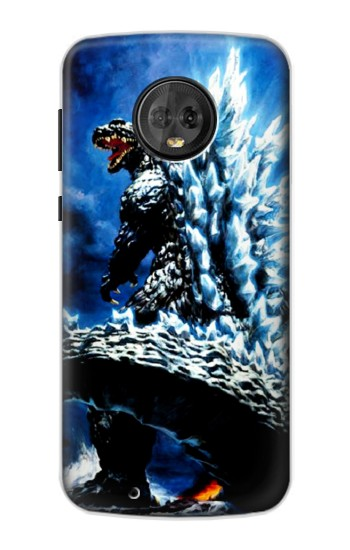 Printed Godzilla Giant Monster Motorola Moto G6 Case