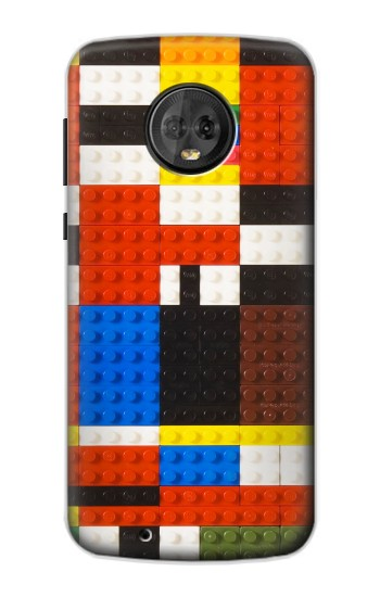Printed Brick Toy Lego Graphic Printed Motorola Moto G6 Case