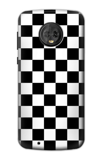Printed Checkerboard Chess Board Motorola Moto G6 Case