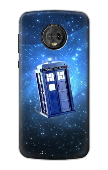 Printed Doctor Who Tardis Motorola Moto G6 Case