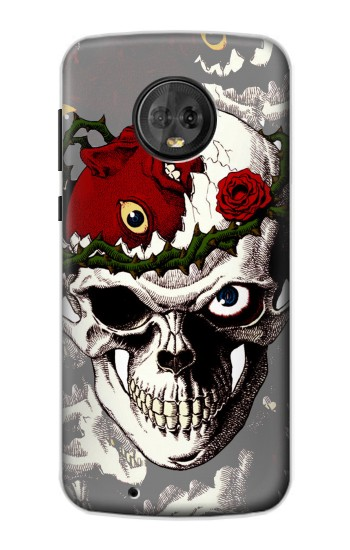Printed Berserk Skull Beherit Egg Tattoo Motorola Moto G6 Case