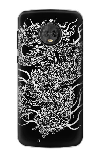 Printed Dragon Tattoo Motorola Moto G6 Case