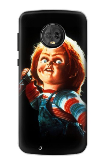Printed Chucky With Knife Motorola Moto G6 Case