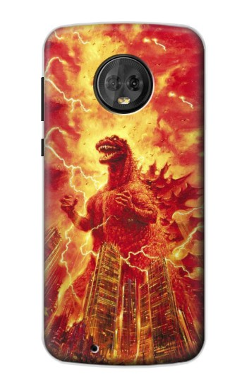 Printed Godzilla The Legend Is Reborn Motorola Moto G6 Case