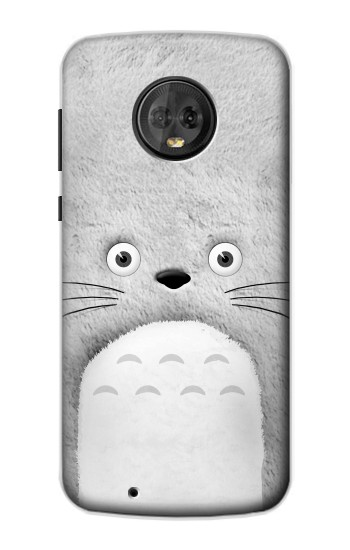 Printed My Neighbor Totoro Grey Minimalist Motorola Moto G6 Case