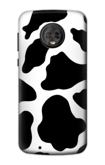 Printed Seamless Cow Pattern Motorola Moto G6 Case