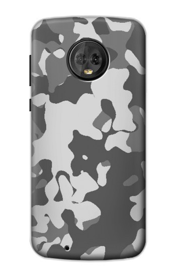 Printed Gray Camo Camouflage Graphic Printed Motorola Moto G6 Case