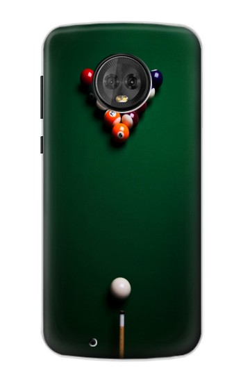 Printed Billiard Pool Motorola Moto G6 Case