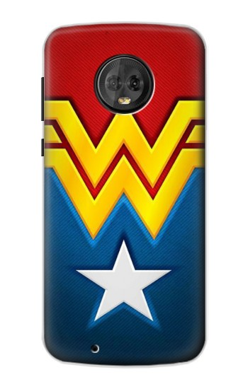 Printed Wonder Women Logo Motorola Moto G6 Case