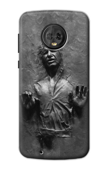 Printed Han Solo Frozen in Carbonite Motorola Moto G6 Case