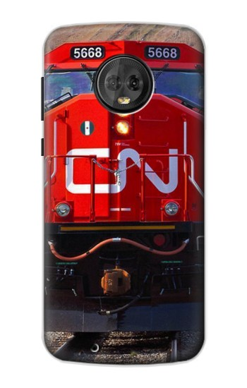 Printed Train Canadian National Railway Motorola Moto G6 Case