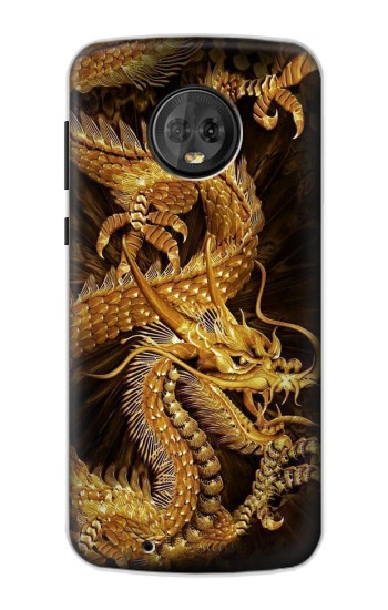 Printed Chinese Gold Dragon Printed Motorola Moto G6 Case