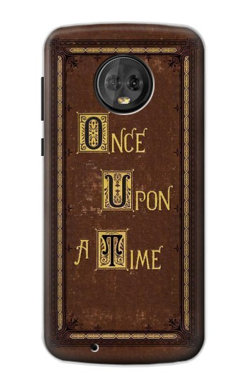 Printed Once Upon a Time Book Cover Motorola Moto G6 Case