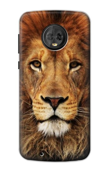 Printed Lion King of Beasts Motorola Moto G6 Case