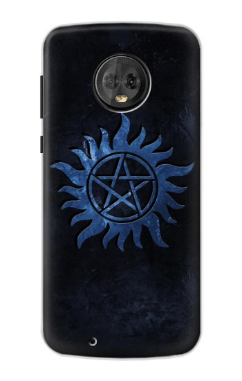 Printed Supernatural Anti Possession Symbol Motorola Moto G6 Case