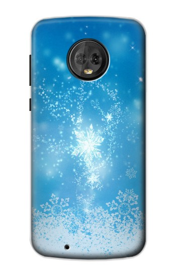 Printed Snow Spell Magic Motorola Moto G6 Case