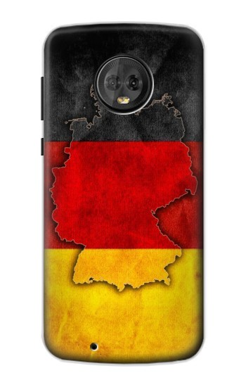 Printed Germany Flag Map Motorola Moto G6 Case