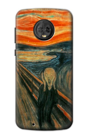Printed Edvard Munch Scream Original Painting Motorola Moto G6 Case