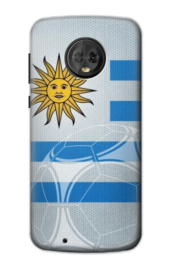 Printed Uruguay Football Flag Motorola Moto G6 Case