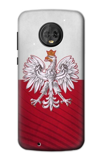 Printed Poland Football Flag Motorola Moto G6 Case