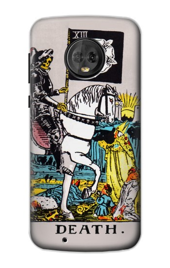 Printed Tarot Card Death Motorola Moto G6 Case