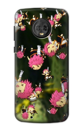 Printed Fairy Tail Little Natsu Fall Motorola Moto G6 Case