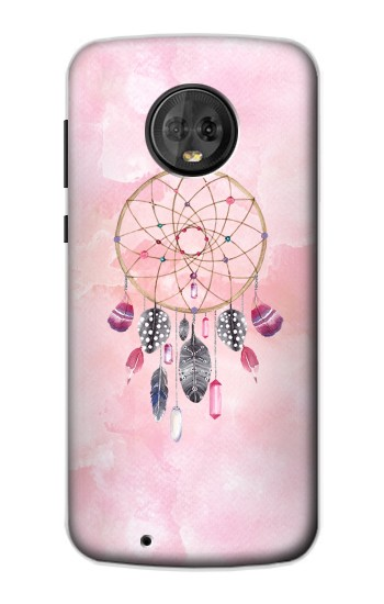 Printed Dreamcatcher Watercolor Painting Motorola Moto G6 Case