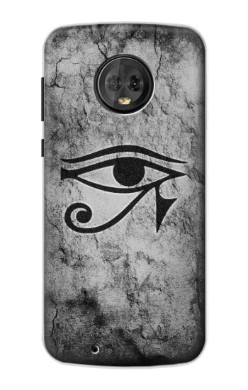 Printed Sun Eye Of Horus Motorola Moto G6 Case