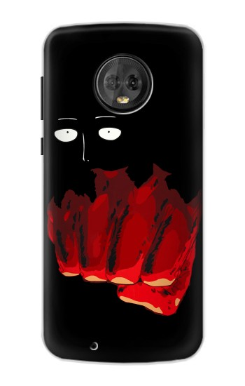 Printed One Punch Man Fight Motorola Moto G6 Case