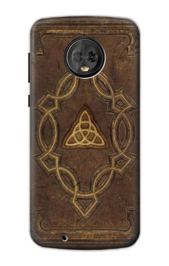 Printed Spell Book Cover Motorola Moto G6 Case