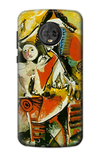 Printed Picasso Painting Cubism Motorola Moto G6 Case