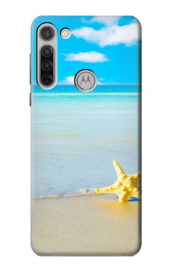 Printed Relax at the Beach Motorola Moto G8 Case