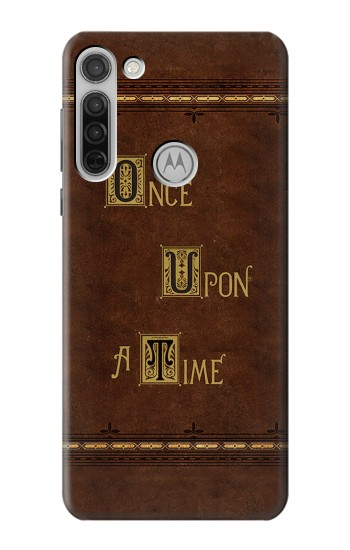 Printed Once Upon A Time Book Motorola Moto G8 Case