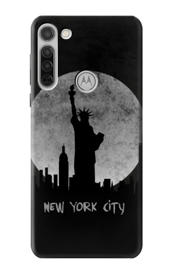Printed New York City Motorola Moto G8 Case