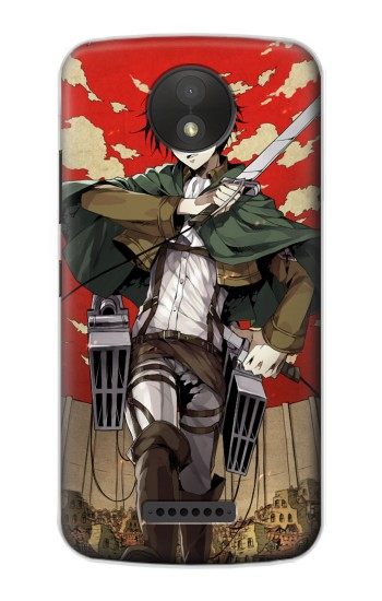 Printed Attack on Titan Rivaille Levi Google Pixel C Case
