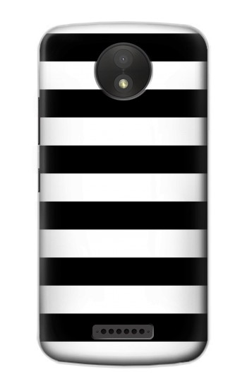 Printed Black and White Striped Google Pixel C Case