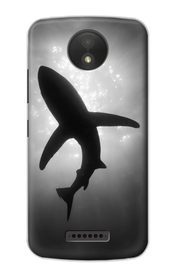 Printed Shark Monochrome Google Pixel C Case