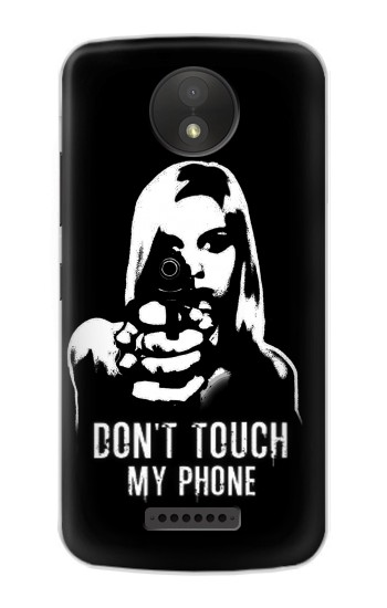 Printed Girl Do Not Touch My Phone Google Pixel C Case