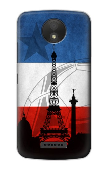Printed France Football Flag Google Pixel C Case
